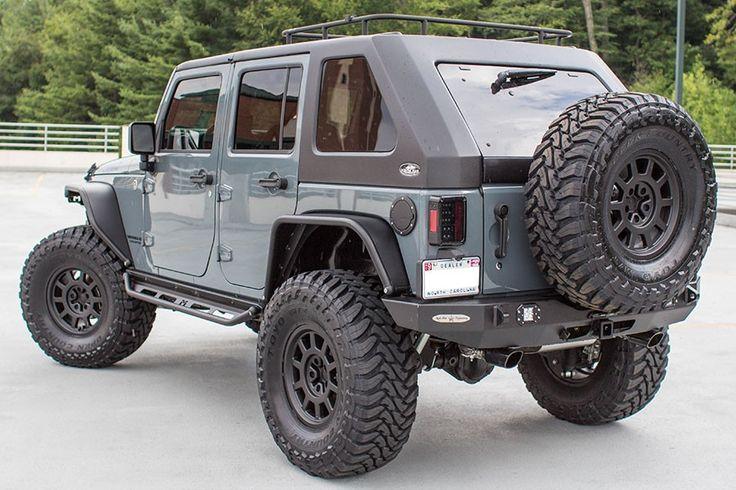 2015 Jeep Wrangler Rubicon Unlimited Anvil - Rear Three Quarter