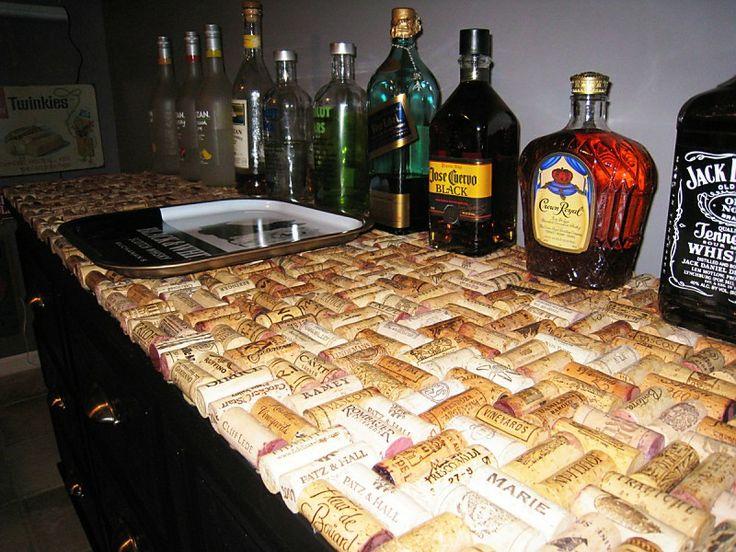 Cork Countertop 78 best man cave bar countertops images on pinterest | bar tops