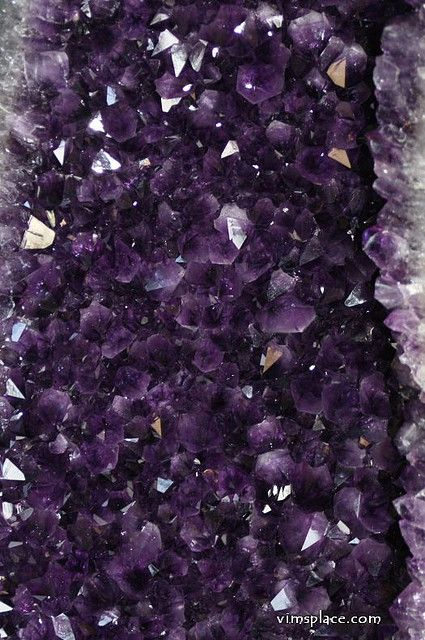 My Birth Stone Amethyst. I was born in January but it is the birthstone of an aquarius and I am an aquarius.