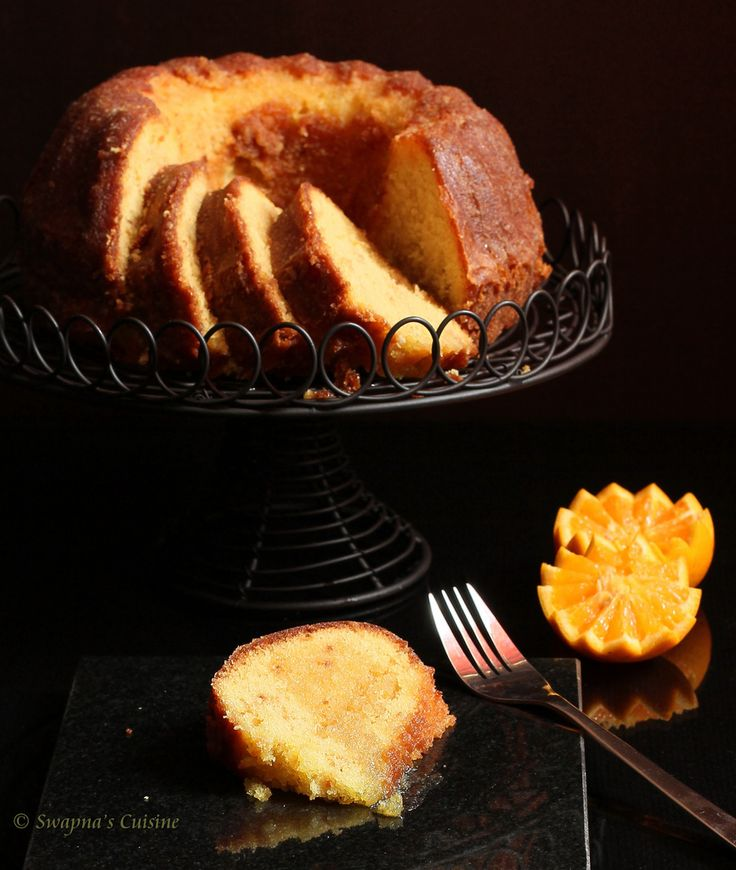 Orange-Soaked Bundt Cake
