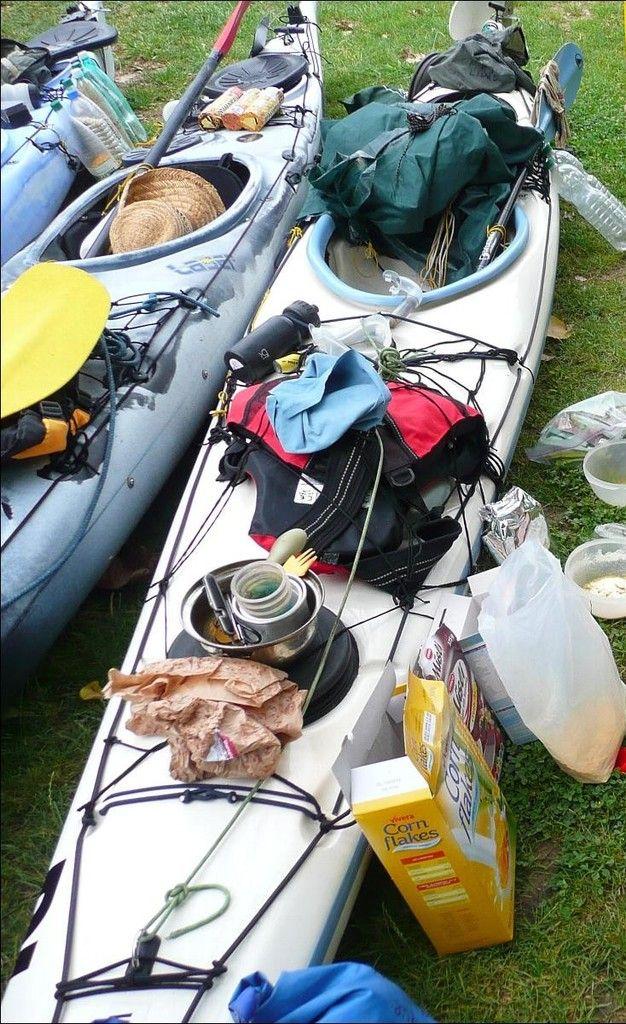 Check-list - randonnée kayak