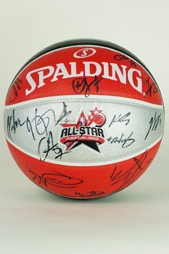 NBA 2013 All-Star Signed Official Basketball; Benefits Nelson Mandela Foundation - Proceeds benefit the Nelson Mandela Foundation
