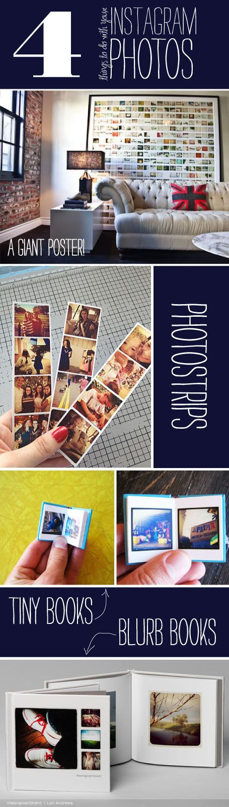 ideas on how to display instagram pics from wiley valentine