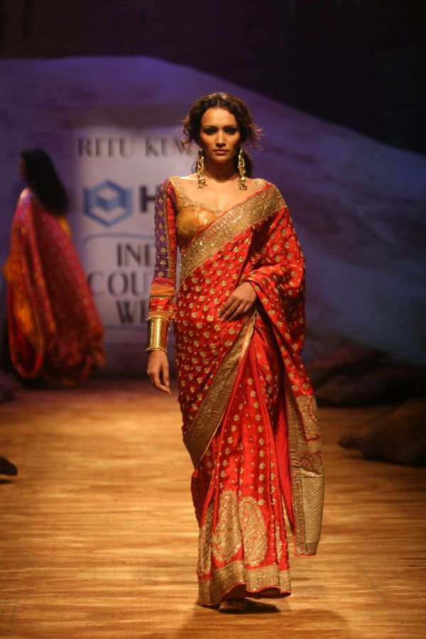 Collections - Ritu Kumar Couture Show 2008
