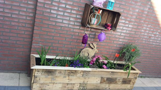 Picture of Wood Pallet Planter