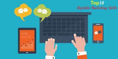 Top 10 digitális marketing (#skills) szaktudás napjainkban