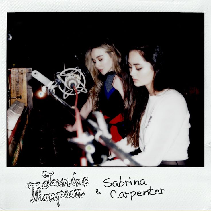 2017 Sabrina Carpenter collaboration with Jasmine Thompson cover of Sign of the Times (Harry Styles). Acoustic