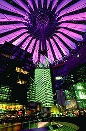 Potsdamer Platz is where I spent my first evening on my first visit to Berlin.