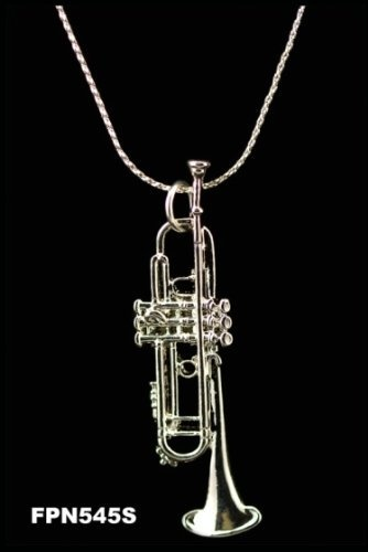 Trumpet Necklace - Silver by Harmony Jewelry, http://www.amazon.com/dp/B001JSWM08/ref=cm_sw_r_pi_dp_nMAJrb09ED4D9