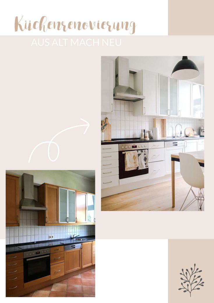 Küchenrenovierung: Aus alt mach neu