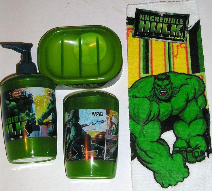 Hulk Bathroom Set | Piece Bathroomset The Hulk