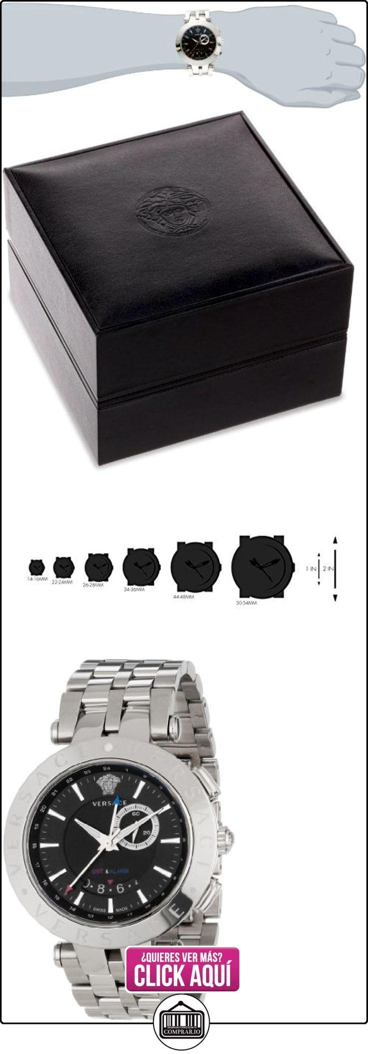 Versace V-Race 29de alarma GMT g99d009S099-Reloj de hombre  ✿ Relojes para hombre - (Lujo) ✿ ▬► Ver oferta: http://comprar.io/goto/B00BHQ9D8Q