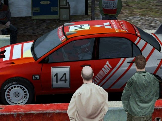 Screenshots of Colin McRae Rally 04 Video Game