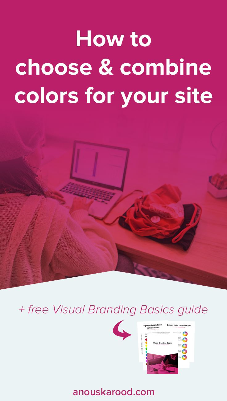 The easiest way to an attractive website is to keep it simple and stick to a limited color scheme. Click through to learn about color psychology and how to combine colors for an attractive color palette.
