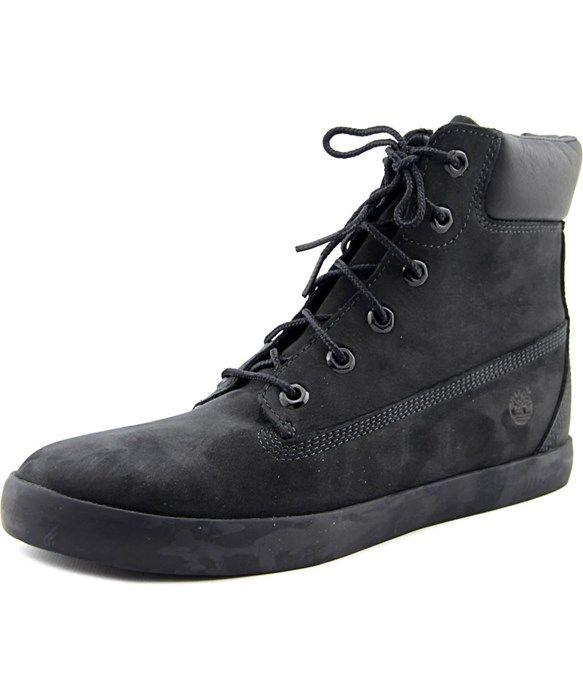 Timberland Flannery Women  Round Toe Leather Black Chukka Boot