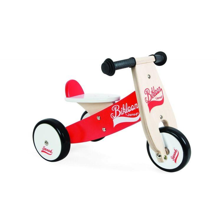 Janod - Triciclo camminatore in legno - Little Bikloon | lalberoazzurro.net