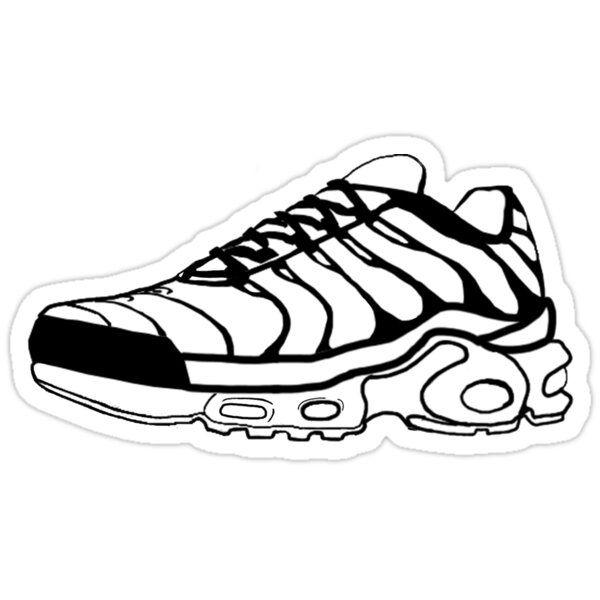 Nike Tn Air Max Plus Sticker by AdlayCult | Nike tn, Sneaker art ...