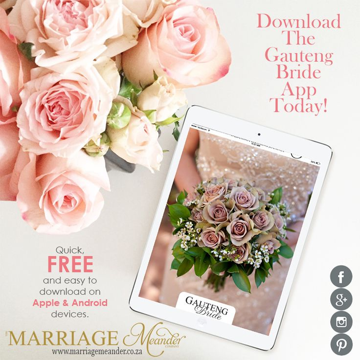 So your #gettinghitched, now what? The #GautengBrideApp is quick & easy to #download and #FREE on #Apple & #Android devices. Now you can store all your #ideas, info and #contacts in one place to access at the tip of your fingers. Get your app right here right now. To get more information on their incredible service please visit our website. LINK IN BIO. #WeddingPlanner #WeddingApp #FreeApp #GautengBride