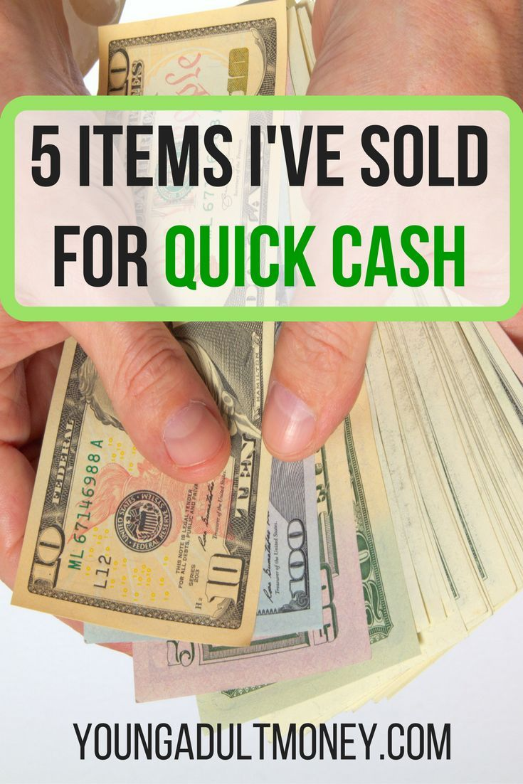 5 Items I've Sold for Quick Cash – Making Extra Money