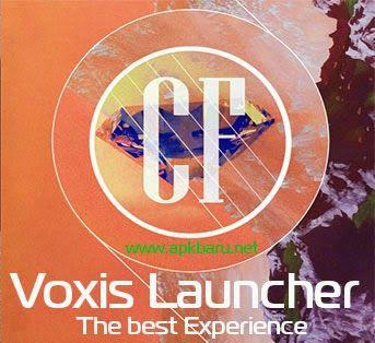 APK BARU: Voxis Launcher v0.2 Apk