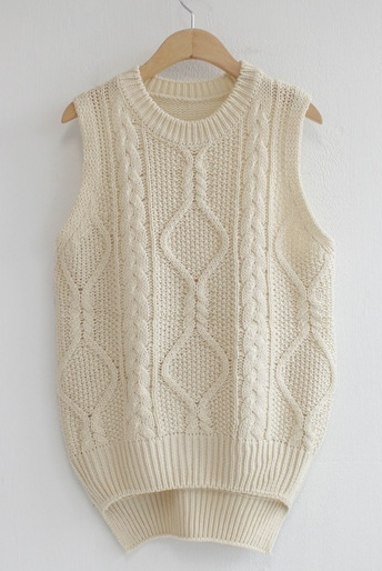 knit vest 니트조끼