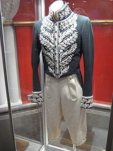 The Young Victoria Costumes: Prince Albert's Coronation Dance Coat