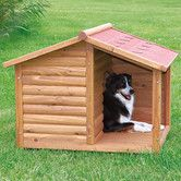 Found it at Wayfair - Rustic Dog House