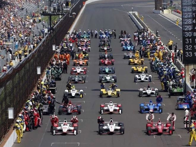 2015 Indy 500 starting grid