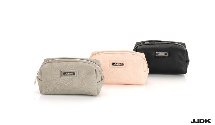 JJDK Premium SS16 Collection | #grey #softpink #black #cosmetic #bags #beauty #bags