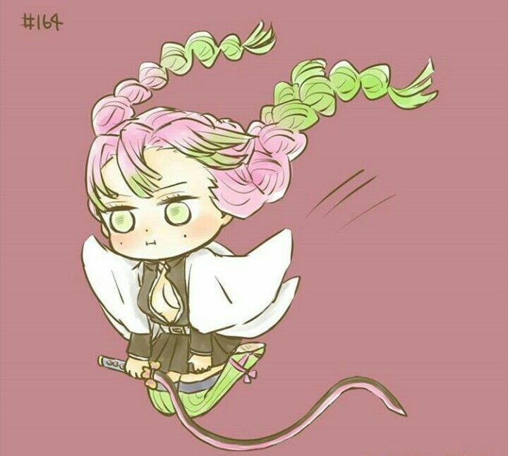 Mitsuri Kanroji In Chapter 164 Anime Quỷ Dễ Thương Which hashira would you like to see next? mitsuri kanroji in chapter 164 anime