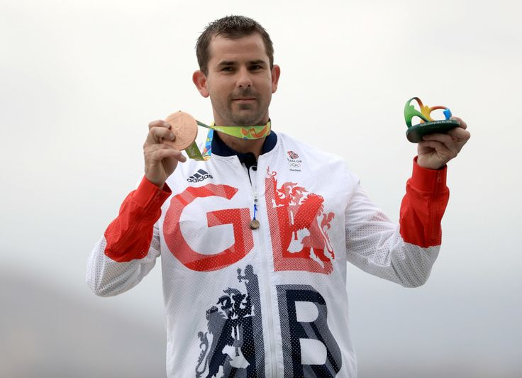 Edward Ling: Bronze in trap shooting (8 August)