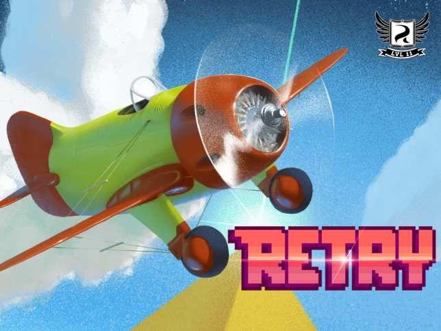 Descargar gratis RETRY, el Flappy Bird de Rovio. Disponible en las App Store y Google Play