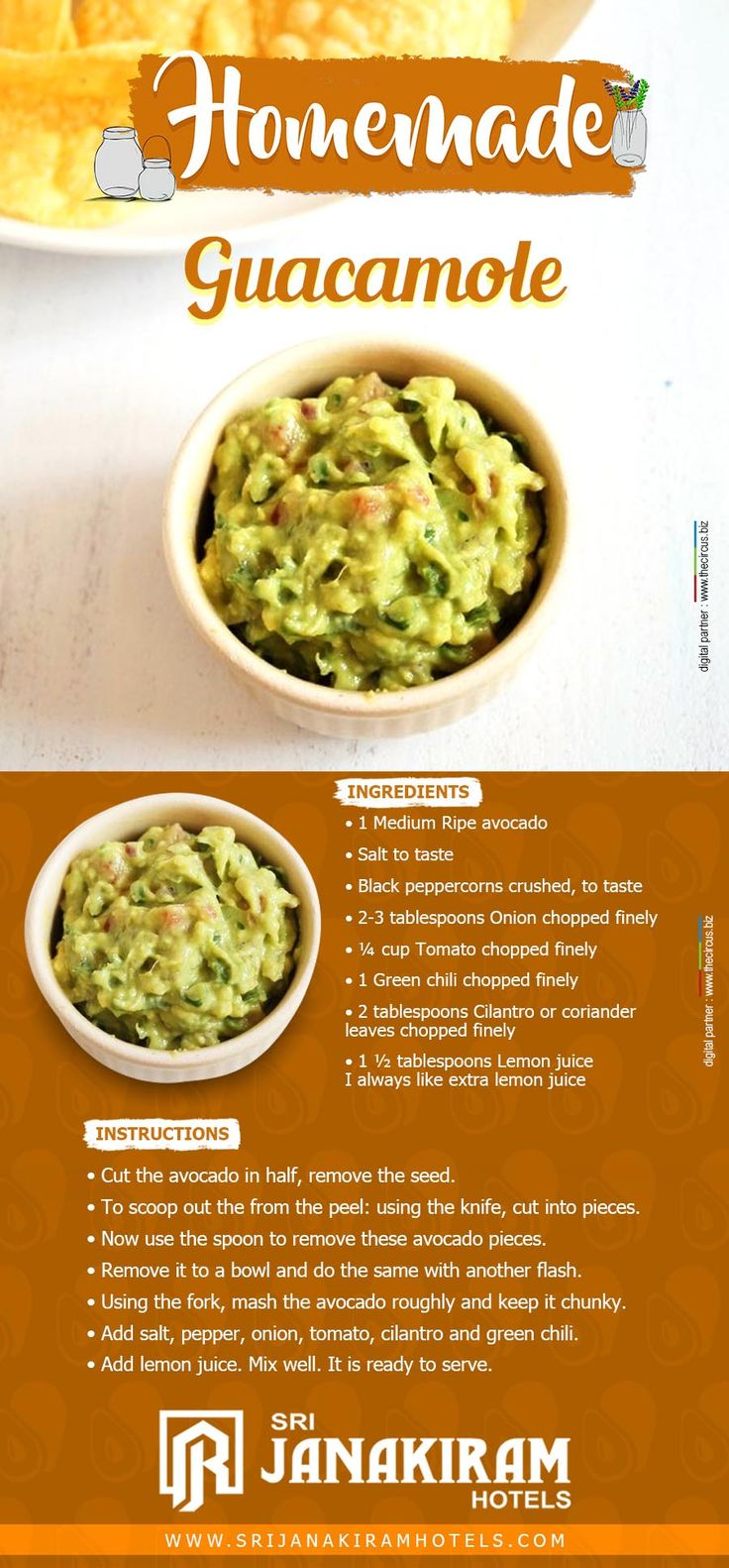 Guacamole is one of those popular Mexican foods that is easy to make and very nutritious. Lets check the wonderful recipe of it.  #srijanakiram #homemade #guacamole #avacado