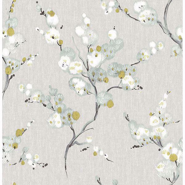 Mirei Peel Stick Wallpaper Blue Floral Wallpaper Floral Wallpaper Botanical Wallpaper