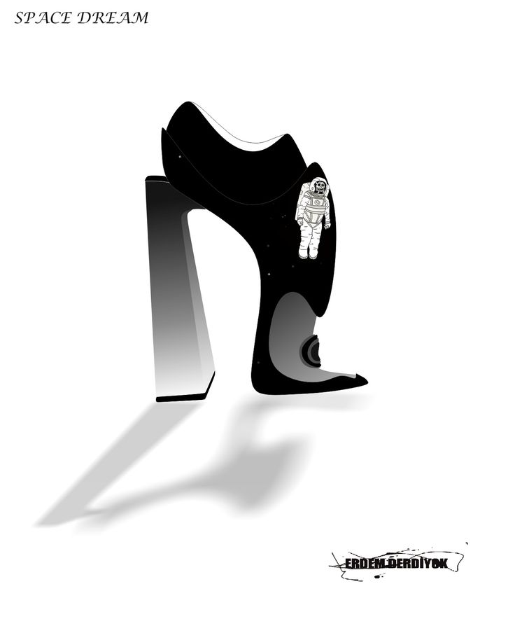 Space Dream  by Erdem Derdiyok   #fashion #art  #gaga #mugler #shoes #ladies #footwear