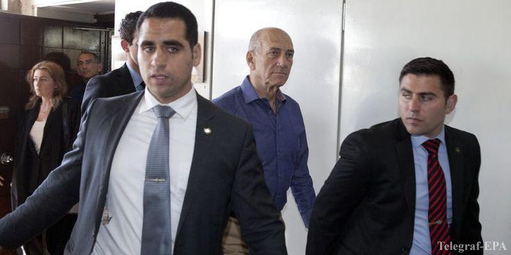 Экс-премьер-министр Израиля приговорен к 6 годам тюрьмы  http://telegraf.com.ua/mir/blizhniy-vostok/1278861-eks-premer-ministr-izrailya-prigovoren-k-6-godam-tyurmyi.html