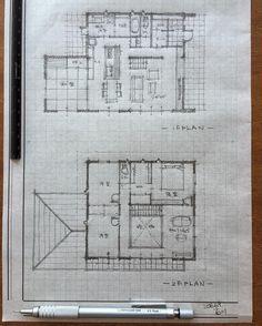 リクエストは滝沢眞規子さんの家。σ(^_^;)あの188坪の豪邸を50坪で、、。肝心なのはお客様が求めている本質を見いだす事、あの空間のつながりや解放感をまずはこんな感じでとまとめてみた。どうかな? #間取り#間取り図#住宅#注文住宅#住まい#設計#設計士#建築#インテリア#家#家作り#住まい#暮らし#マイホーム#マイホーム計画中#リビング#ダイニング#アイランドキッチン#シューズクローゼット#収納#壁面収納#吹き抜け#回廊#手描き#手書き#間取りいろいろ