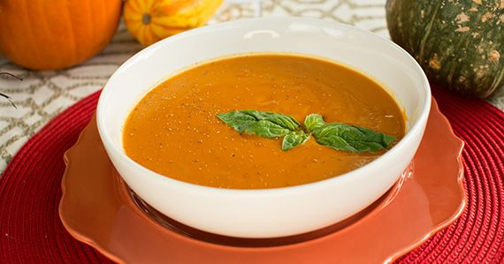 Sweet Potato Bisque, from Forks Over Knives - The Cookbook. Recipes for a Plant Based Thanksgiving 2013.