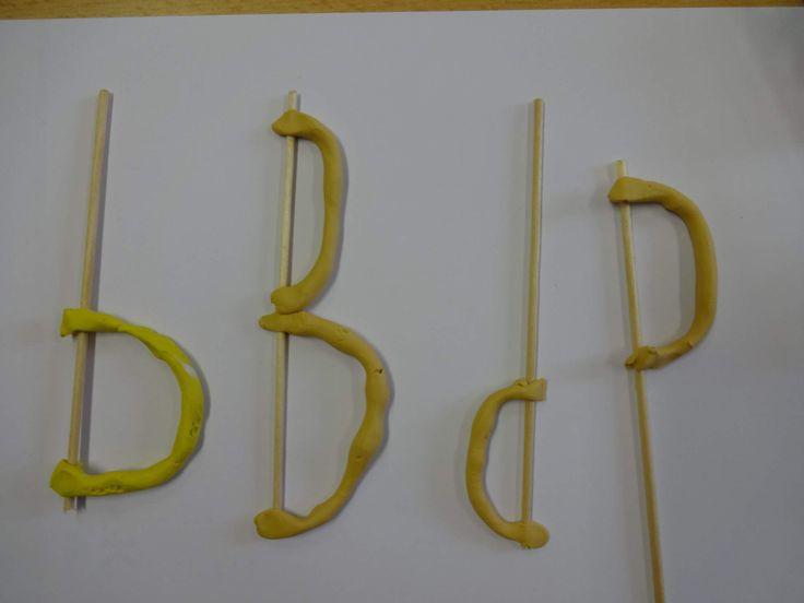 modelujeme písmena