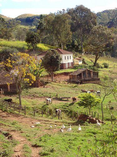Bairro do Tanque, zona rural de Andradas, estado de Minas Gerais, Brasil. Esta é uma foto que retrata muito bem as regiões rurais do interior de meu país, o Brasil.