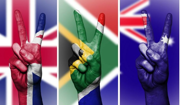 UK or Australia – where will you find the most expat South Africans?