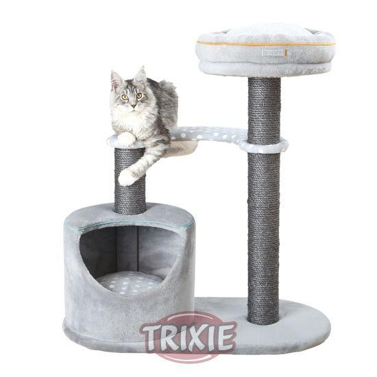 Arbol Rascador para gatos Edition 40 Trixie 82 cm gris y naranja