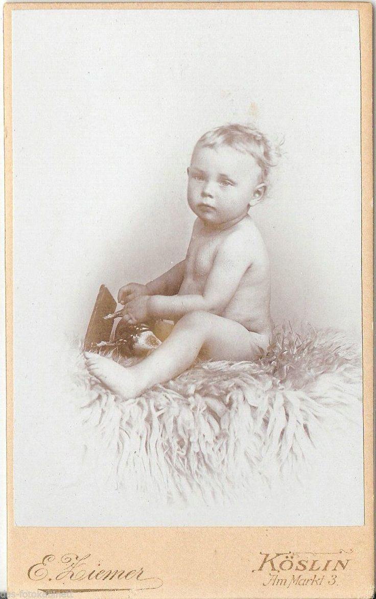 Kinderbild / Baby - Köslin um 1900  Ziemer