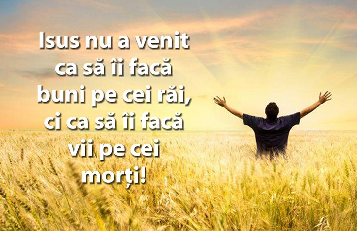 A quote of why Jesus came in Romanian.