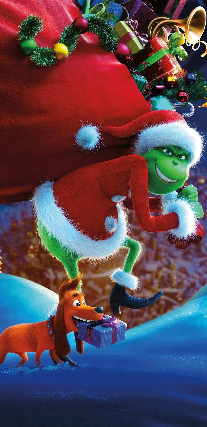 The Grinch Wallpaper Cute Christmas Wallpaper Christmas
