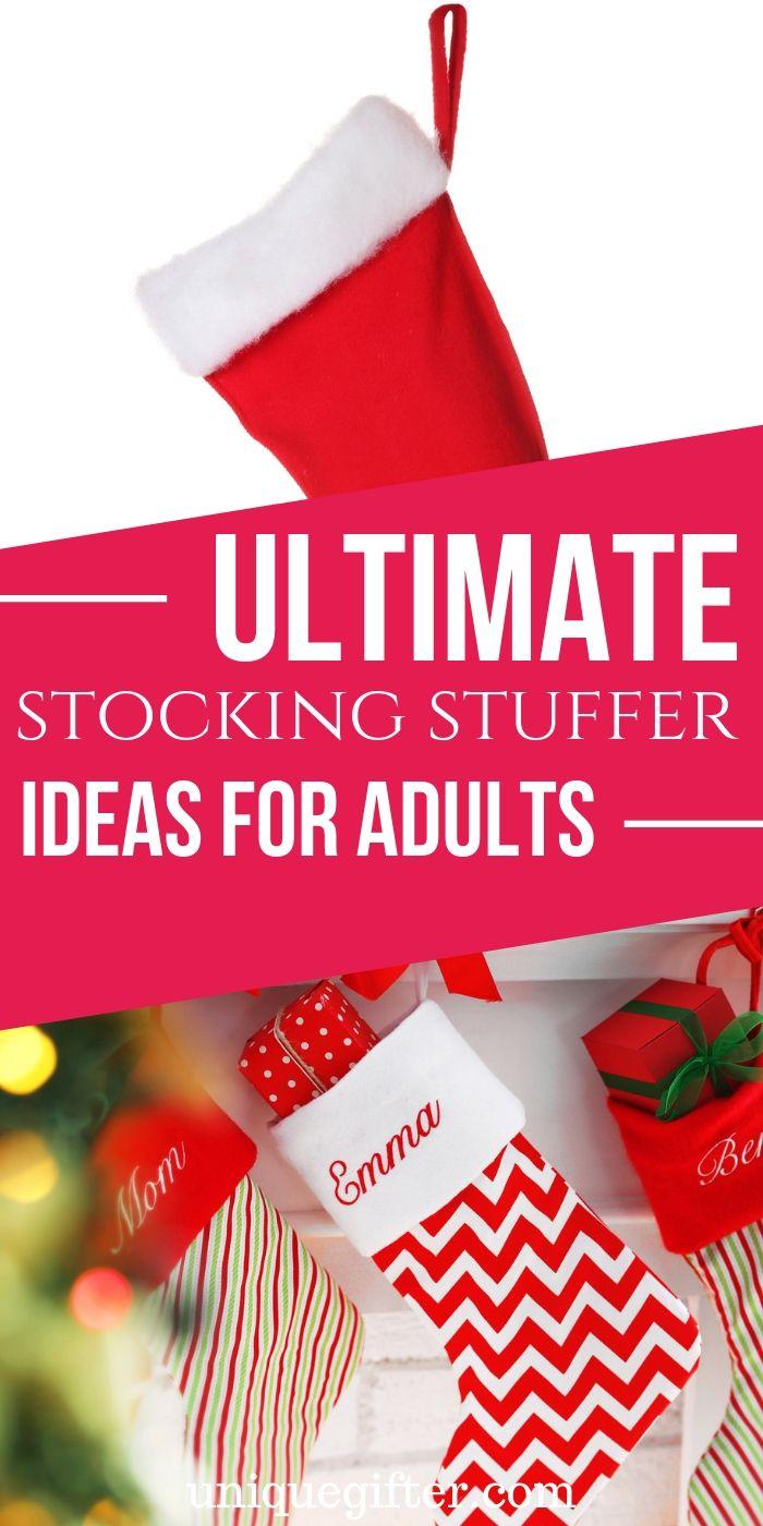 Über 400 Stocking Stuffer-Ideen für Erwachsene!