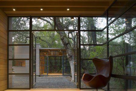 Creekside Guest House by Bohlin Cywinski Jackson