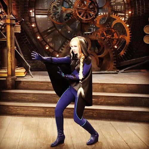 "Throwback Thursday Photo: Dove Cameron Behind The Scenes Of ""Liv And Maddie"" September 10, 2015 - Dis411"