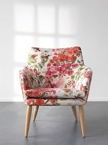 Upholstery fabric / floral pattern LIVING CHIVASSO