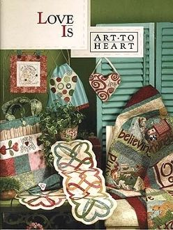 Love is Art to Heart Book by Nancy Halvorsen
